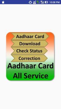 Aadhaar Card All Service poster