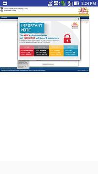 Aadhaar Card All Service screenshot 21