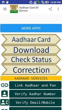 Aadhaar Card All Service screenshot 2