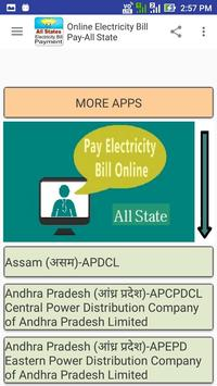 Online Electricity Bill Pay-All State screenshot 18