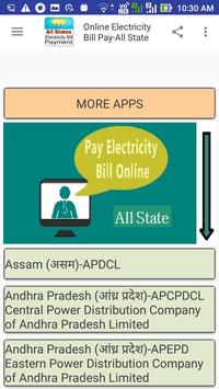 Online Electricity Bill Pay-All State screenshot 2