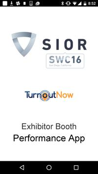 SIOR Exhibitor  App poster