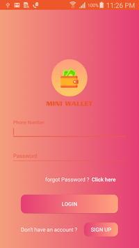 Mini Wallet poster