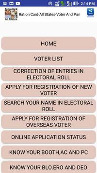 Ration Card-All States-Voter And Pan screenshot 20