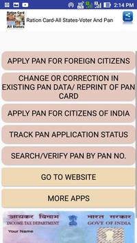 Ration Card-All States-Voter And Pan screenshot 3