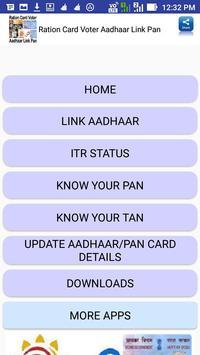 Ration Card Voter Aadhaar Link Pan screenshot 4