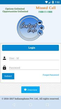 Contact Cafe apk screenshot