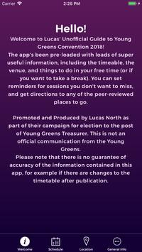 Young Greens Convention: The Unofficial Guide poster