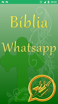 Holy Bible for Whatsapp in Portuguese poster