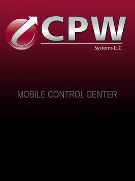 CPW Mobile Control Center poster