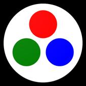 R.G.B icon