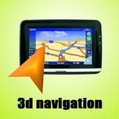3D Navigation icon