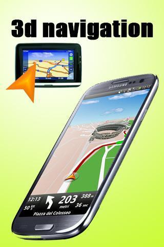 3D Navigation poster