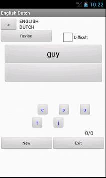 English Dutch Dictionary apk screenshot