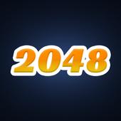 2048 Black-White icon