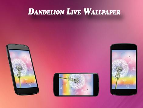 Dandelion Live Wallpaper apk screenshot