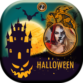Halloween Photo Frame icon