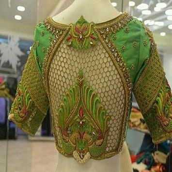 Indian Blouse Designs poster