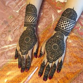 Hand+Finger Mehndi Designs poster