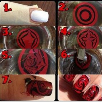 Nail Book step by step poster
