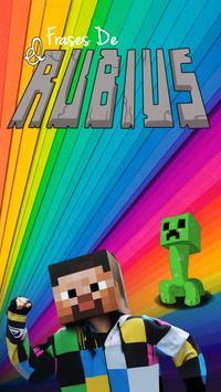 Frases de elRubiusOMG poster