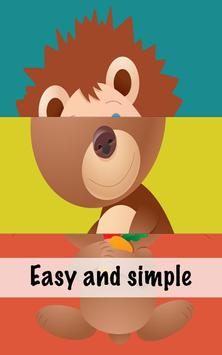 Baby Animal Puzzle Lite apk screenshot