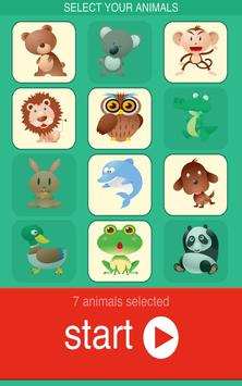 Baby Animal Puzzle Lite poster