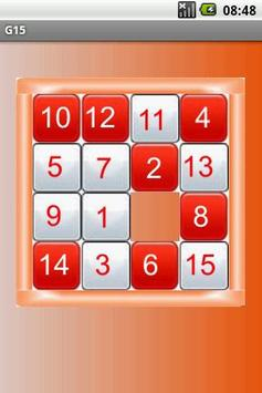 G15 - the game of 15! apk screenshot