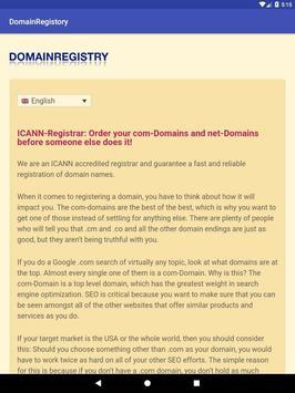 1a: .com and .net screenshot 7