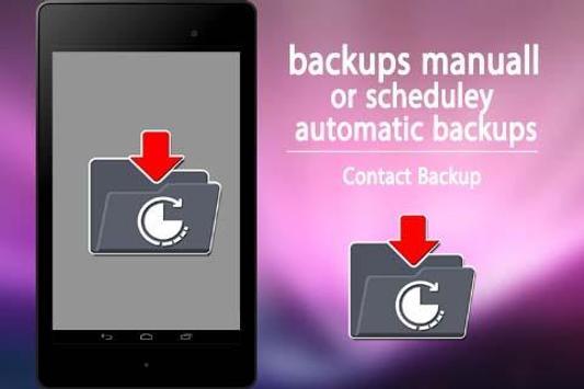 Contact Backup poster