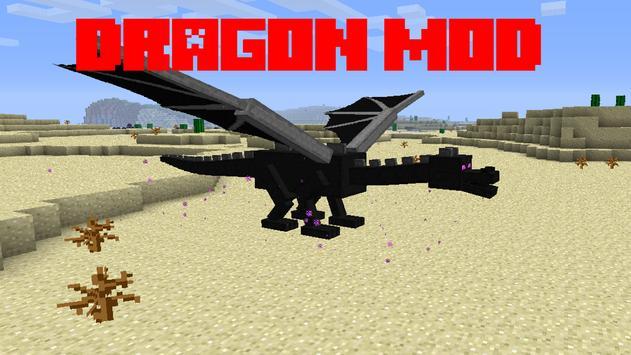 Dragon Mod For Minecraft PE screenshot 1