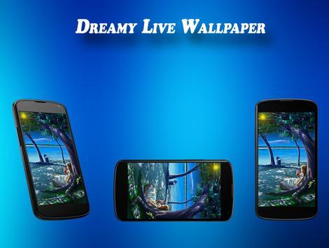 Dreamy Live Wallpaper apk screenshot