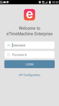 eTimeMachine Mobile apk screenshot