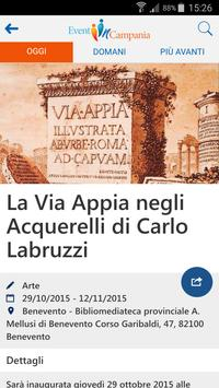 Eventi in Campania apk screenshot