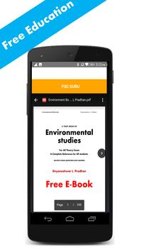 UPSC Guru Exam Guide 2018 apk screenshot