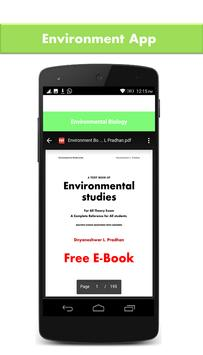 Environmental Science 2018 apk screenshot