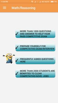 Government job/interview preparation (2 MB Only) poster