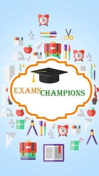 Exams Champions poster