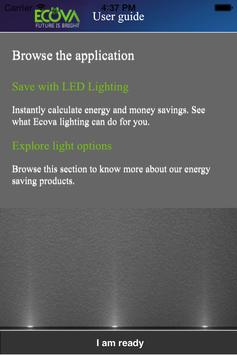Ecova LED Energy 1.1 poster