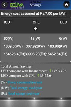 Ecova LED Energy 1.1 screenshot 8