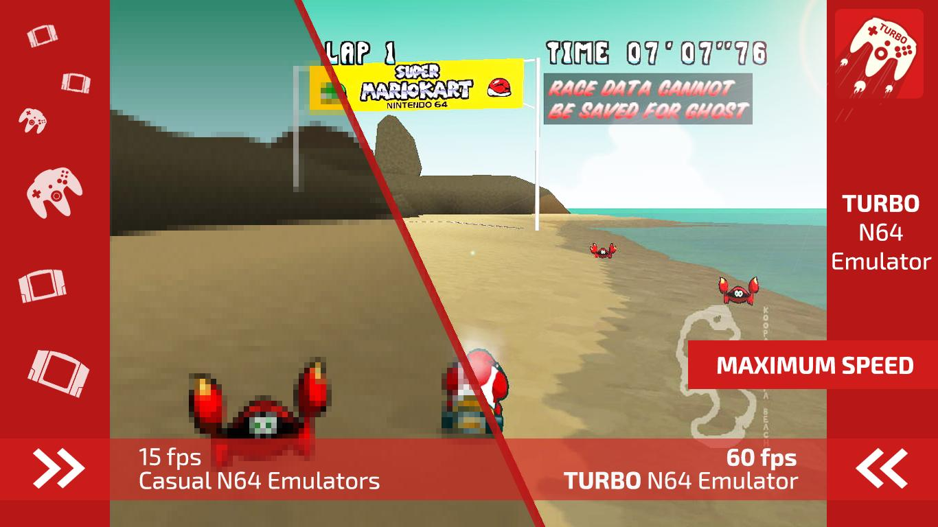 Turbo Emulator for N64 for Android - APK Download