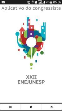 XXII ENEJUNESP poster