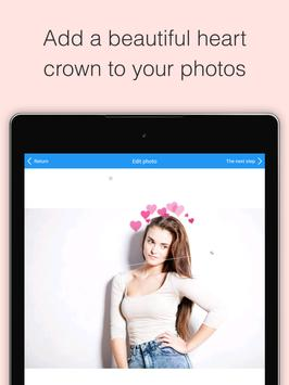 Photo Booth Heart Effect Flower Crown Crownify Apk Screenshot