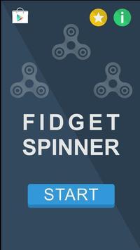 Fidget Spinner: Simulator Spin poster