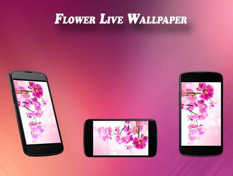 Flower Live Wallpaper poster