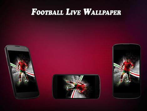 Football Live Wallpaper poster