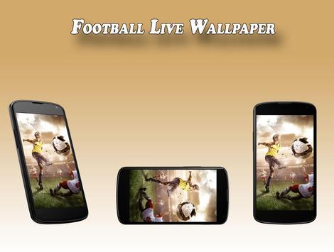 Football Live Wallpaper apk screenshot