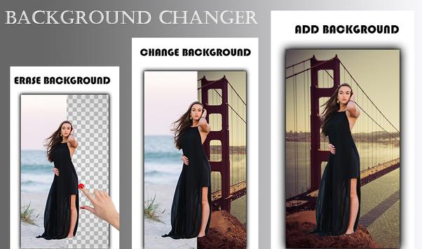 Background Changer - Cut Paste Photo on Background poster