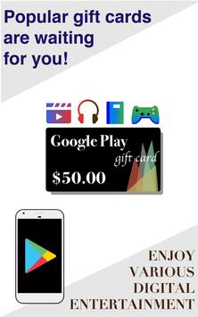Free Giveaway: Real Gift Cards & Gifts(FortuneBox) poster