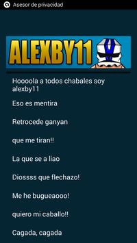 Frases Graciosas Alexby11 screenshot 1